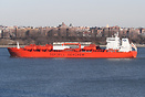 Chemical tanker 'Bow Summer' seen here, arriving in New York.