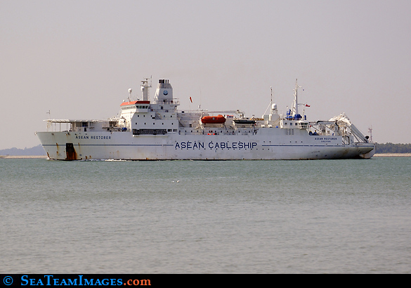 Cable Ship 'Asean Restorer'