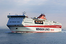 Minoan Lines ferry 'Knossos Palace' arriving at Piraeus