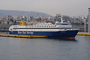Blue Star Ferries 'Diagoras' docked at Piraeus
