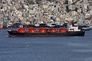 The LPG Carrier 'Gaz Fareast' at Perama bound to Elefsina.