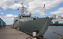 HMCS Goose Bay (MM 707), Kingston-class coastal defence vessel, seen h...