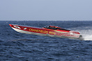 The Searex Racing Team's Cranefields Wine boat during the Powerboat P1...