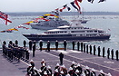 The 2005 International Fleet Review held off Spithead in the Solent
