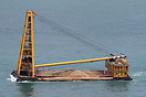 A Derrick Barge is a crane barge used in offshore drilling platform co...