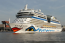 AIDAblu is a Sphinx series cruise ship from German AIDA Cruises, deliv...