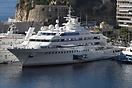 Blohm & Voss built superyacht 'Lady Moura' at Monte Carlo. When bu...