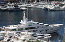 Feadship built super yacht 'Siran' seen here at Monte Carlo