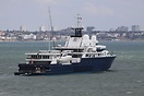 Motor Yacht 'Le Grand Bleu' is one of the largest private yachts in th...
