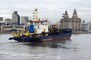 Operating in the river Mersey