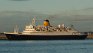 Saga Rose oubound for sea from Liverpool