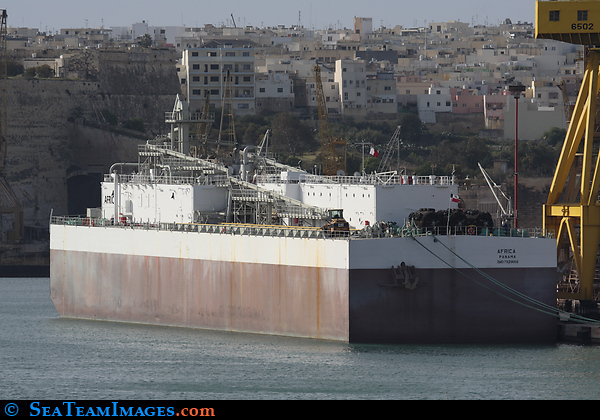 Cement Storage Barge 'Africa'