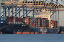 CMA CGM Jade at the Malta Freeport