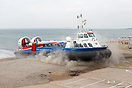 Hovertravel's AP1-88, Freedom 90, brought visitors from the Isle-of-Wi...