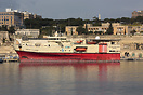 The seismic survey vessel Ramform Challenger in Malta