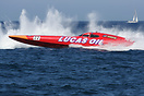 The Lucas Oil Scandinavian Offshore Challenge boat during the UIM Ocea...