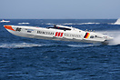 The Searex team's Hercules Sagemann boat during the UIM Ocean Grand Pr...