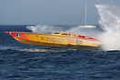 The RG 87 Racing Team's Karelpiu' boat during the UIM Ocean Grand Prix...