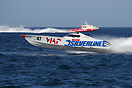 Evo class boat no. 47 Silverline during the UIM Ocean Grand Prix World...