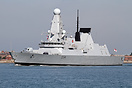 HMS Diamond is the third ship of the Type 45 or 'D' class of air defen...