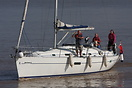 "Beneteau Oceanis 361 ""Wild Beast II"" seen here about to ente..."