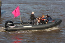 Valiant DR620 support service boat on duty at the P1 Superstock Powerb...