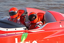 Racing Team Typhoo seen here at round 3 of the P1 International Supers...