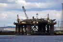 FPF1 Drilling Platform formerly known as AH001 Berthed at Able UK Tees...