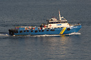 Cassar Marine Services Sea Jaguar re-entering harbour.