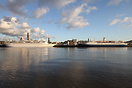 It has been a while that Antwerp had 2 cruise ships simultaneously. Bo...