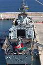 HMCS Charlottetown (FFH 339) is a Halifax-class frigate that has serve...