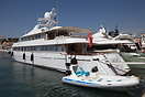 Superyacht CD TWO (Ex Independent Of London) is 43 metre (141 foot) sl...