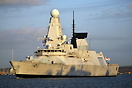 HMS Dauntless  is the second ship of the Type 45 class of air defence ...