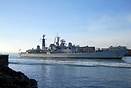 HMS Edinburgh is a Type 42 (Batch 3) destroyer of the Royal Navy. Edin...