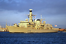 HMS Kent is a Type 23 Duke class frigate of the British Royal Navy, an...