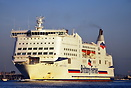 The MV Mont St Michel is a ferry operated by Brittany Ferries. She was...