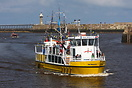 Pleasure Cruiser 'Esk Belle 11' seen here in the Famous Whitby Harbour...
