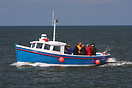 Whitby based fishing boat 'Libby' seen here bringing back Anglers afte...
