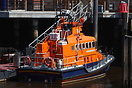 RNLB George and Mary Webb seen here at Whitby lifeboat station ready f...