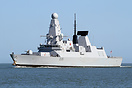 HMS Dragon is the 4th Type 45 Destroyer to be delivered and is picture...