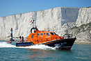Eastbourne's new Tamar class lifeboat RNLB Diamond Jubilee off Beachy ...