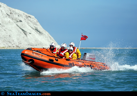 RNLI Inflatable Boat