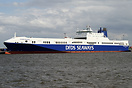 Ficaria Seaways sailing on the Ghent - Goteborg route. Nearly ready fo...