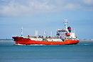 "The LPG tanker ""Lady Hilde"" makes its way past Calshot for t..."