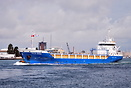 The general cargo vessel Filia Ariea operated by Werkendam Shipping Co...