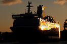 MV Bretagne is operated by Brittany Ferries on the Portsmouth - Saint-...