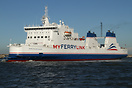 MV Nord Pas-de-Calais is a freight ferry owned by MyFerryLink and oper...