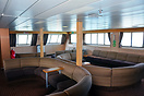 The obvservation lounge of the MV Caledonian Isles.