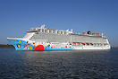 New for 2013, Norwegian Breakaway made a 2 day promotional visit to So...