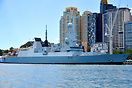 HMS Daring representing the United Kingdom at the 2013 International F...